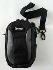 Synergy Digital Camera Bag Black Cross-body/ Belt Loop Attachment w Zip Closure
