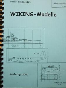 """""""WIKING - Modelle"""", Planung - Konstruktionszeichnungen, Schönfeldt"""
