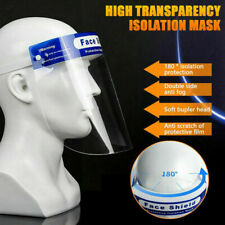 New listing 2 Pcs Protective Full Face Safety Isolation Visor Eye Face Protector Shield