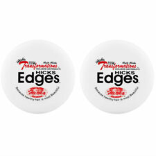 2PCS HICKS EDGES POMADE EDGE CONTROL HAIR STYLING GEL SUPER HOLD 4 OZ