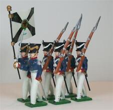 Hampton - G221 - Prussian Infantry, Marching - 6 figures - Napoleonic