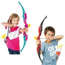 Los niños grandes conjuntos de arco y flecha Flechas Tiro Con Arco Tiro Juego Juguete de Juguete de destino