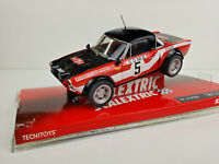 Slot car SCX Scalextric 6486 Fiat 124 Spyder #5 R.Pinto Rally Monte Carlo 1973