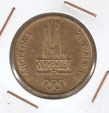 Medalla FNMT OLYMPHILEX 92 ( Barcelona )