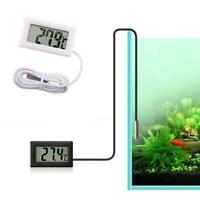 LCD Digital Aquarium Thermometer Aquarium Wassertemperatur Praktisch Detekt E2I1
