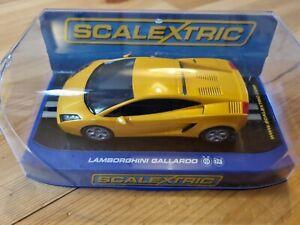 C2810 Scalextric Lamborghini Gallardo Yellow