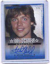 2010 Pop Century Mark Hamill Luke Skywalker autograph auto card #1/5 STAR WARS