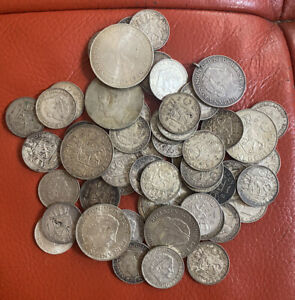 Netherlands Lots Of Silver Coins 465 Grams Many High Grade