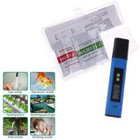 Digital Electric PH Meter LCD Tester Pocket Hydroponics Aquarium Water Test P_fw