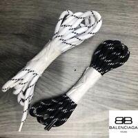 Balenciaga Triple S style Laces, MULTIPACK (Black & White), Brand New