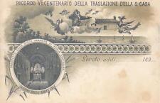C390) LORETO (ANCONA) 1895, VI CENTENARIO TRASLAZIONE SANTA CASA.