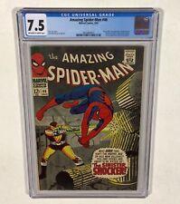 Amazing Spider-Man #46 CGC 7.5 KEY! (1st Shocker!) 1967 Marvel Comics