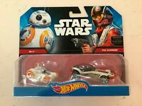 STAR WARS Hot Wheels BB-8 & POE DAMERON 2014 Set - NISP!