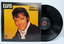 Elvis Presley - Let's Be Friends - Pickwick CAS 2408 LP Record EX