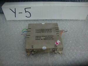 Wessex Electronics 6723-03-0031 switch/vernier  Module