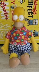 The Simpsons Homer Plush toy Vintage 90s Toy 44 cm tall