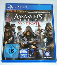 Figuras assassins creed Syndicate-Special Edition PlayStation 4 ps4 alemán Assassin's