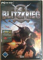 Blitzkrieg RTS Strategie Spiel Deutsch Neuwertig Like New Sudden Strike