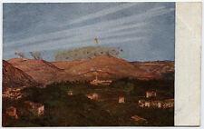cart.milit.BOMBARD.DEL SAN GABRIELE VISTO DA CASTELLO GORIZIA illustr.A.SARTORIO