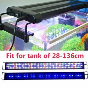 Aquarium Fish Tank LED Light Over-Head Lamp Marineland Plants Moon lighting UK