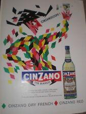 Cinzano The Bianco Cinzanoscope advert 1964 ref AY