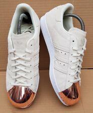 BIANCO Nuovo di Zecca Adidas Originals Superstar Scarpe da ginnastica da donna taglia UK 4