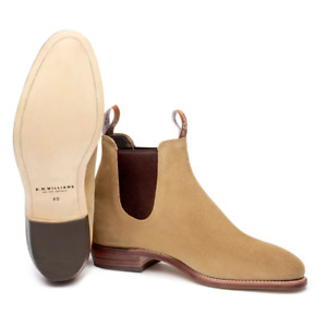 R.M. Williams Adelaide Sand Suede Ladies Boots Women's RMW