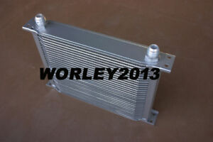 Universal engine transmission oil cooler AN10 30 rows