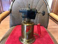 Vintage C & L  Brass Blow Torch
