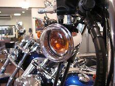 Kit De Lentes De Intermitente Transparente Para Harley
