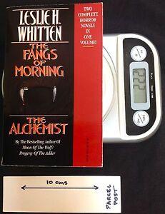 The Fangs of Morning / The Alchemist - PB 1st Ed Leslie H Whitten