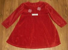 GIRLS RED WINTER DRESS SIZE 6 CHICKEN NOODLE GORGEOUS!!!!!!!!!!!!!!