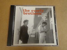 CD / THE EVERLY BROTHERS - THEIR GREATEST HITS LIVE