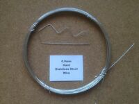 2.5mm x 10m Stainless Steel Wire Rope  7x7  49 Strand 18//8 304 INOX Surgical