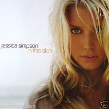 """Jessica Simpson """"In This Skin"""" 2-Sided U.S. Promo Poster - Sexy Seductive Shots"""