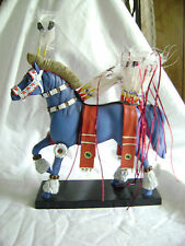 painted ponies~FANCY DANCER~ LOW #1E/0206~Limited edition 55/250 ~~Signed x 2~~
