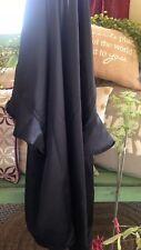Victoria's Secret Black One Size Silky Robe