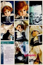 MasterPiece Gallery CURTIS Limited Edition Thelma Resch Porcelain Doll 195/2000