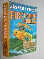 JASPER FFORDE.FIRST AMONG SEQUELS.1ST/3 H/B D/J 2007,PRICED UNREAD COPY
