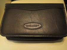 Case Logic Black Leathet 72 Capacity CD/DVD Prosleeve Wallet w/ handle