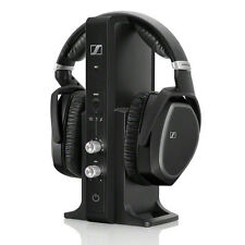 SENNHEISER RS 195 DIGITAL WIRELESS HEADPHONE+CIRCUMAURAL+CLOSED+NOISE SUPPRESION