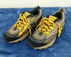 New Balance Men's 801 Trail Sneaker In Brown/Yellow ML801SB Size 9.5 PLZ READ