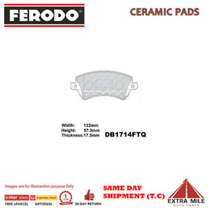 BRAKE PADS FRONT for TOYOTA COROLLA ZZE122 2001-2007 1.8L 4cyl DB1714F