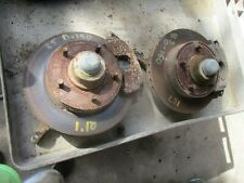 81-93 DODGE RAM FRONT SPINDLES DISK BRAKE ROTORS CALIPERS OEM LEFT RIGHT PAIR #2