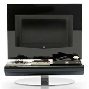 Calligaris TV Unit Display Stand Black Glass Holds 37'' TV RRP £1800 SALE £375