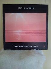 Calvin Harris Funk Way Bounces Vol. 1 Lp 24x24 Promo Poster Board Very Rare!
