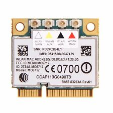 Option M06712 Wireless 3G WWAN WCDMA UMTS GSM GPS EDGE+WiFi Half Mini PCI-E Card