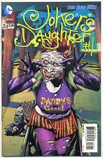 BATMAN THE DARK KNIGHT #23.4 NM, 3D Cover, JOKER'S DAUGHTER, DC The New 52 2013