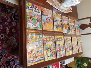 Archie Comic book Betty and Veronica #1,5,8,9,10,11,13,40,41,48,55,78,80,223,582