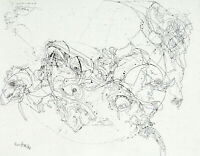 """Kunst in der DDR """"Verlassen"""" 1986. Radierung Thomas RANFT (*1945 D) handsigniert"""